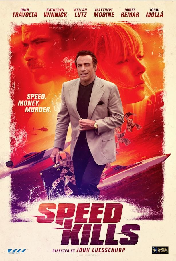 Speed Kills (BANDE-ANNONCE) avec John Travolta, Matthew Modine, Tom Sizemore