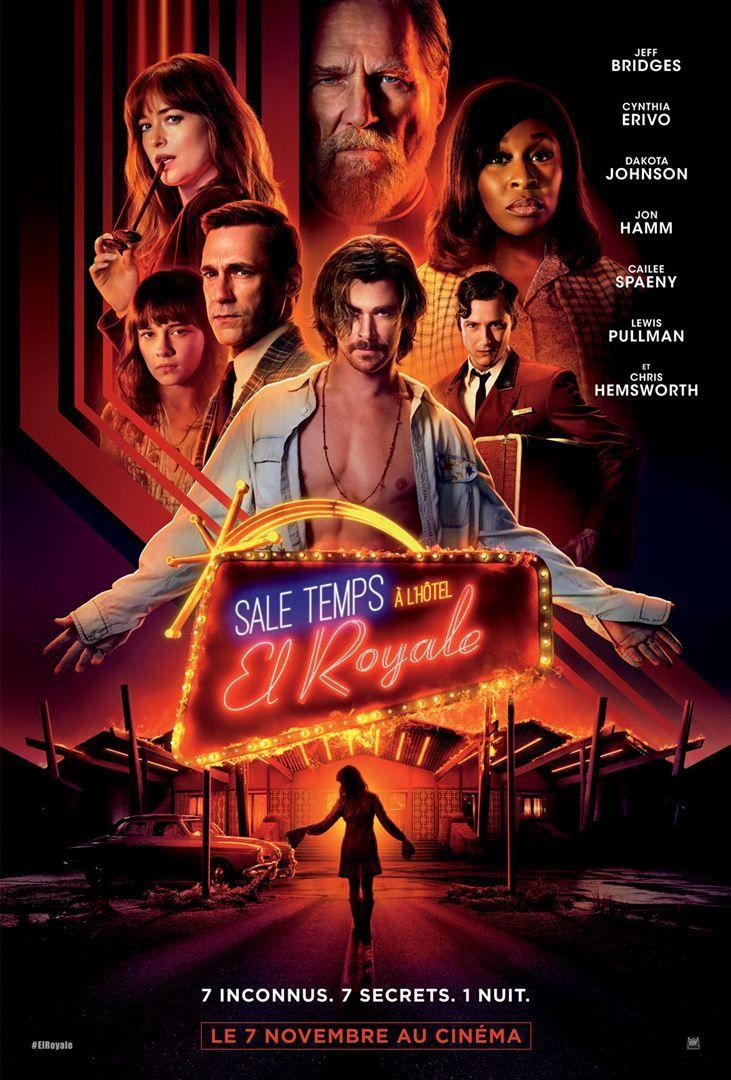 Sale temps à l'Hôtel El Royale (BANDE-ANNONCE) avec Chris Hemsworth, Jeff Bridges - Le 7 novembre 2018 au cinéma