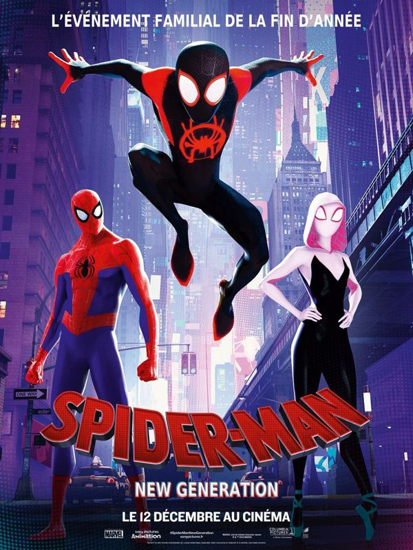 Spider-Man : New Generation (Vidéo Exclusive) Le 12 décembre 2018 au cinéma (Spider-Man: Into the Spider-Verse)