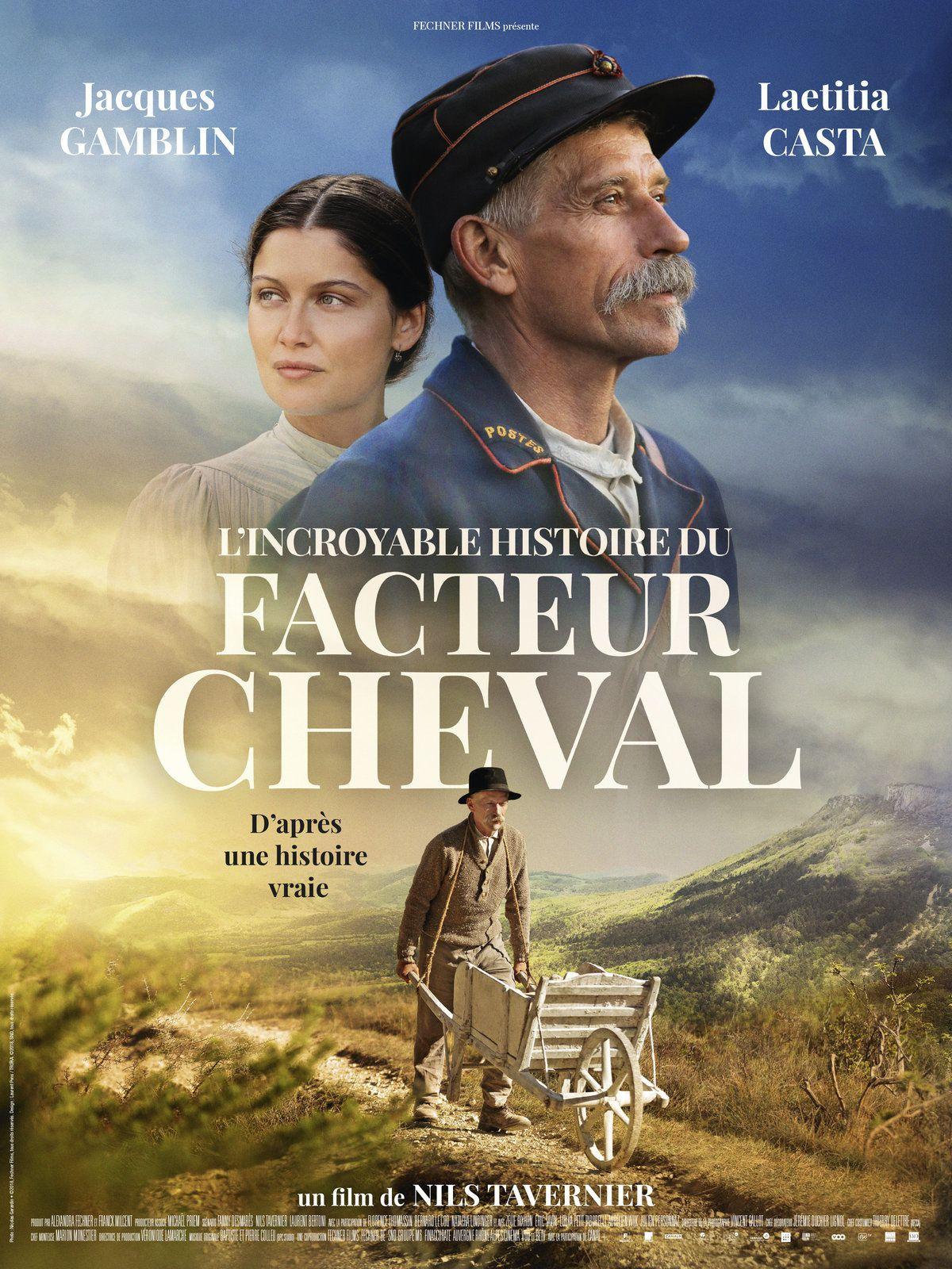 L'INCROYABLE HISTOIRE DU FACTEUR CHEVAL avec Jacques Gamblin, Laetitia Casta - Découvrez la bande-annonce – Au cinéma le 16 janvier 2019