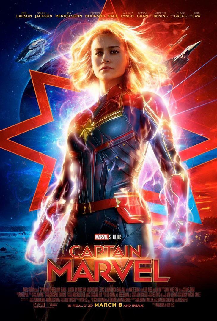 Captain Marvel (BANDE-ANNONCE) avec Brie Larson, Jude Law, Samuel L. Jackson - Le 6 mars 2019 au cinéma