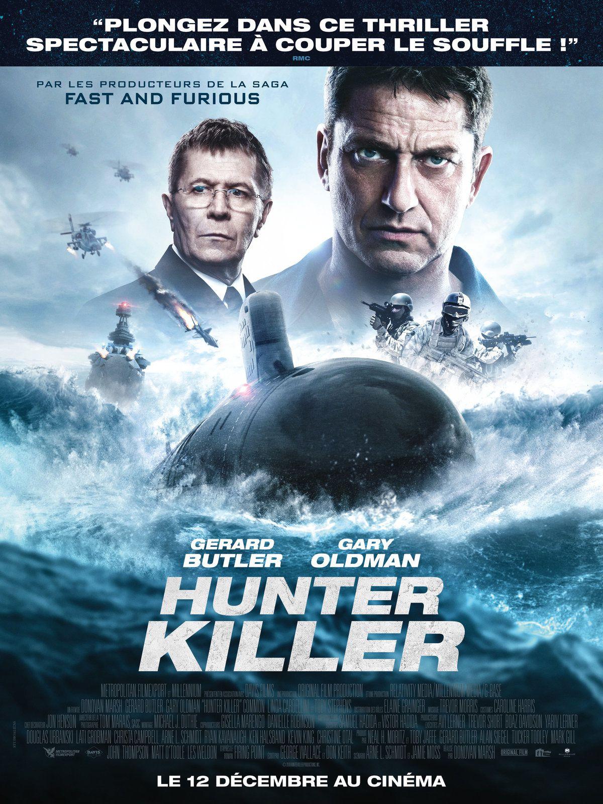 Hunter Killer (2 EXTRAITS) avec Gerard Butler, Billy Bob Thornton, Common, Gary Oldman - Le 12 décembre 2018 au cinéma