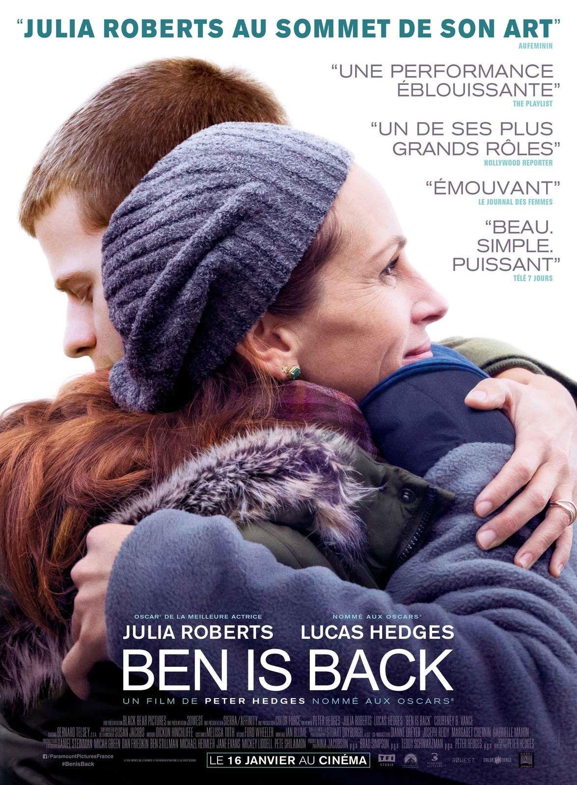 BEN IS BACK (BANDE-ANNONCE + 1 EXTRAIT) avec Julia Roberts, Lucas Hedges - Le 16 janvier 2019 au cinéma