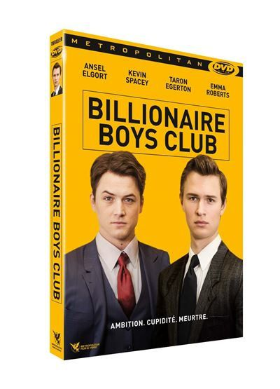 Billionaire Boys Club (BANDE-ANNONCE) avec Kevin Spacey, Ansel Elgort, Taron Egerton - En DVD 19 janvier 2019