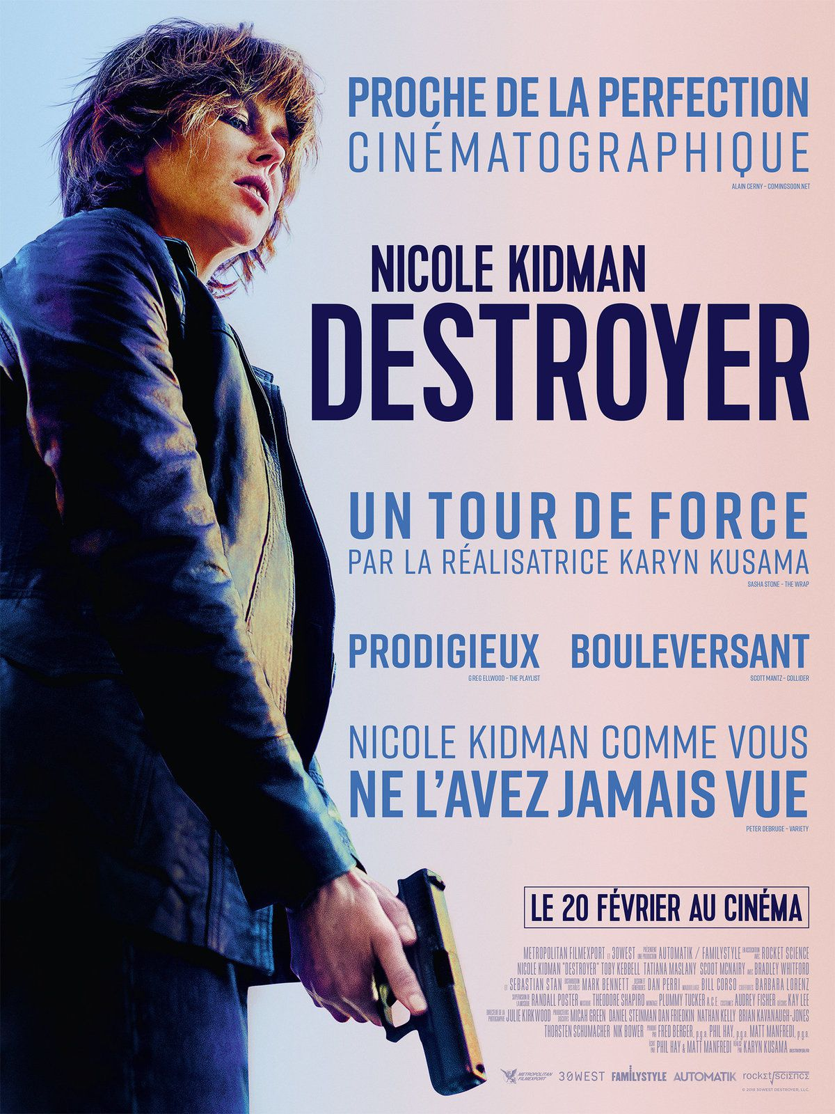 DESTROYER (BANDE-ANNONCE + 3 EXTRAITS) avec Nicole Kidman, Bradley Whitford, Tatiana Maslany - Au cinéma le 20 février 2019