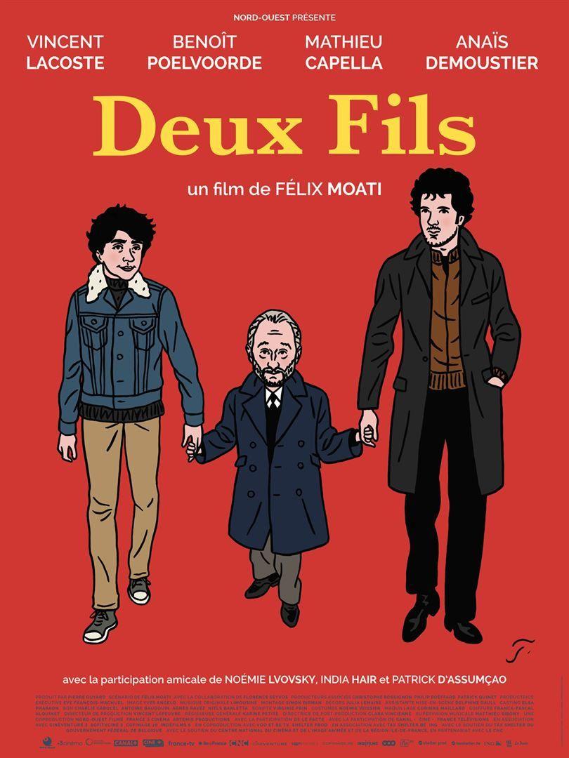 Deux fils (BANDE-ANNONCE) avec Vincent Lacoste, Benoît Poelvoorde, Mathieu Capella - Le 13 février 2019 au cinéma