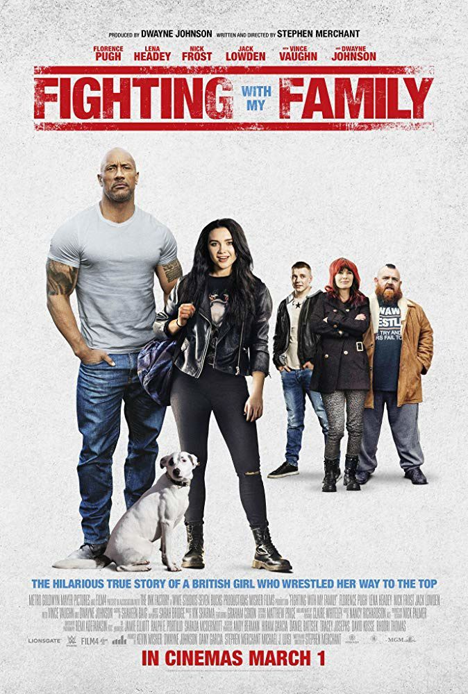 Fighting with my family (BANDE-ANNONCE) avec Dwayne Johnson, Lena Headey, Vince Vaughn