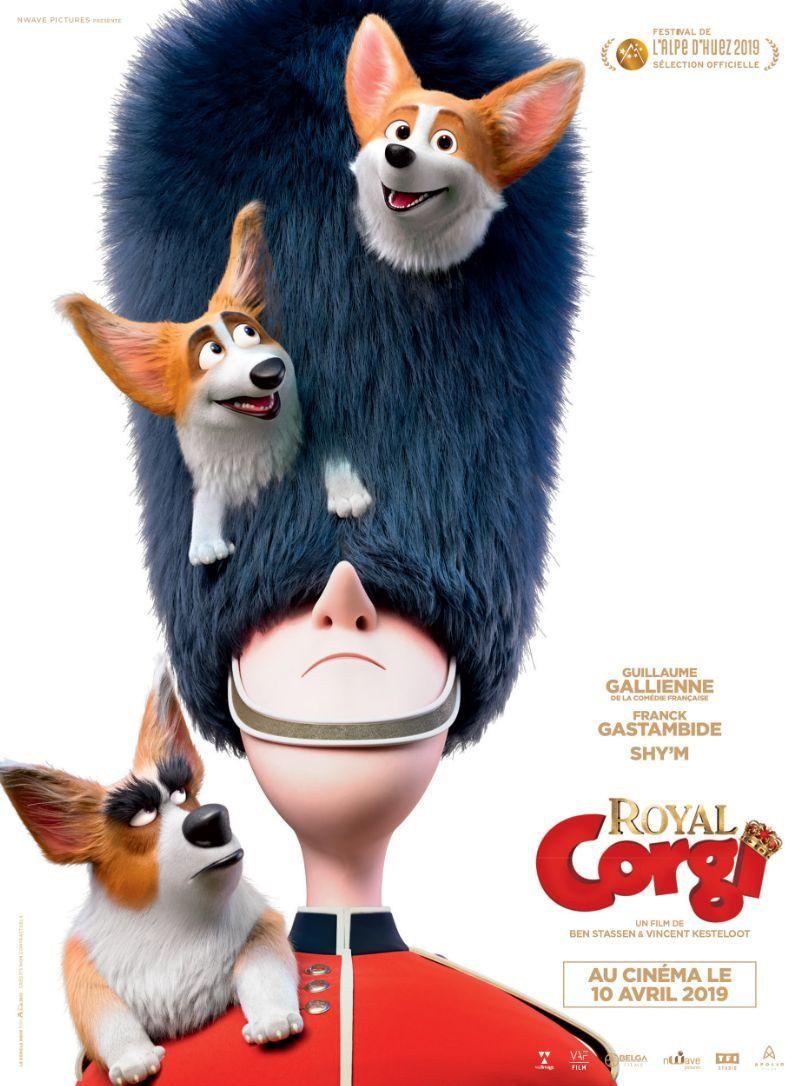 ROYAL CORGI (BANDE-ANNONCE) avec les voix de Guillaume Gallienne, Franck Gastambide et Shy'm - Au cinéma le 10 avril 2019