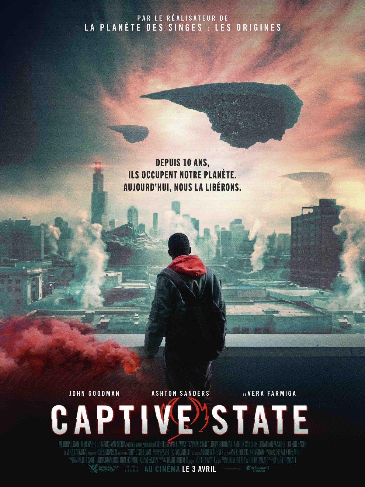 Captive State (BANDE-ANNONCE) avec John Goodman, Vera Farmiga - Le 3 avril 2019 au cinéma