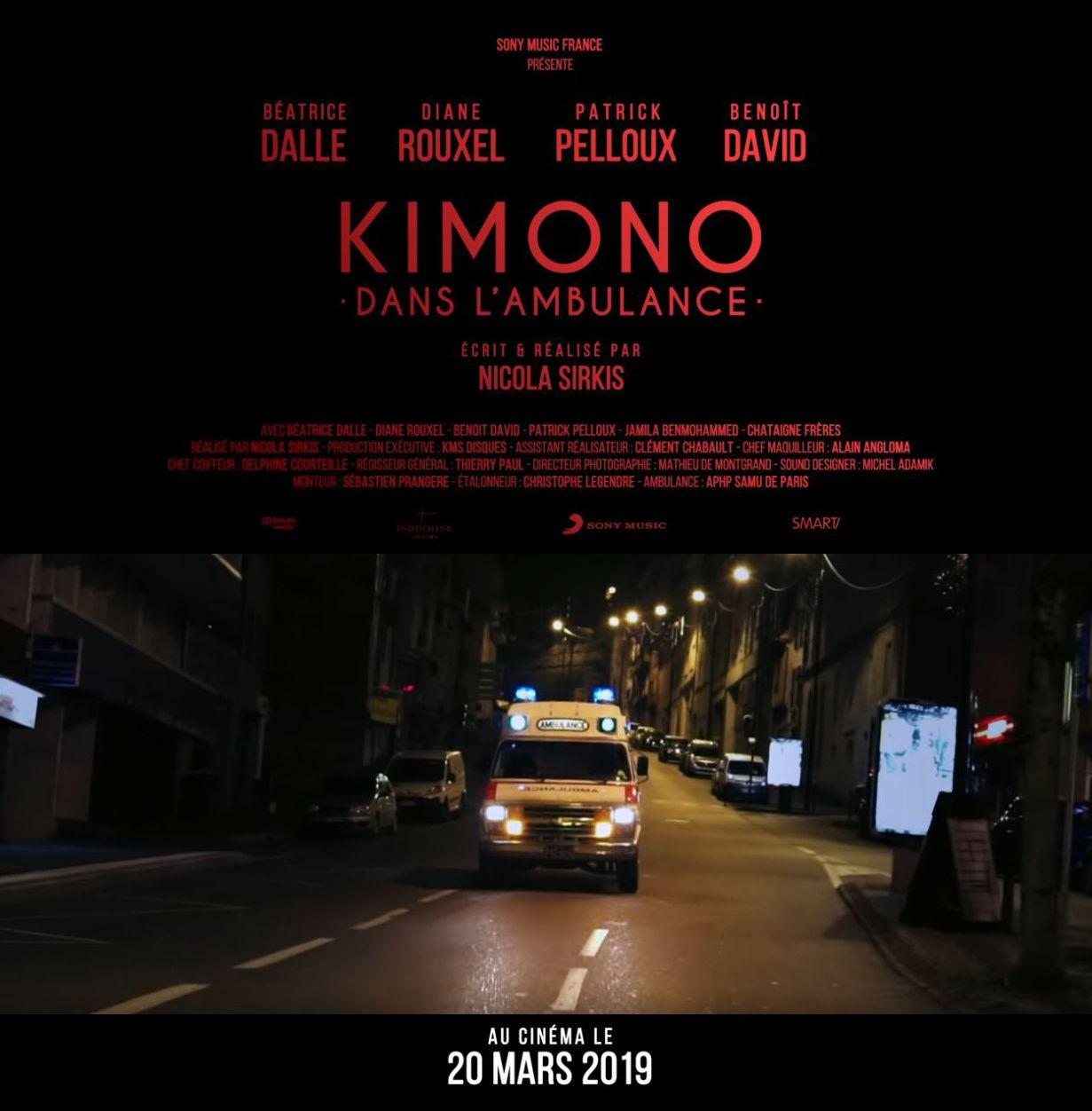 Indochine - Kimono dans l'ambulance (BANDE-ANNONCE) avec Béatrice Dalle - Le 20 mars 2019 au cinéma
