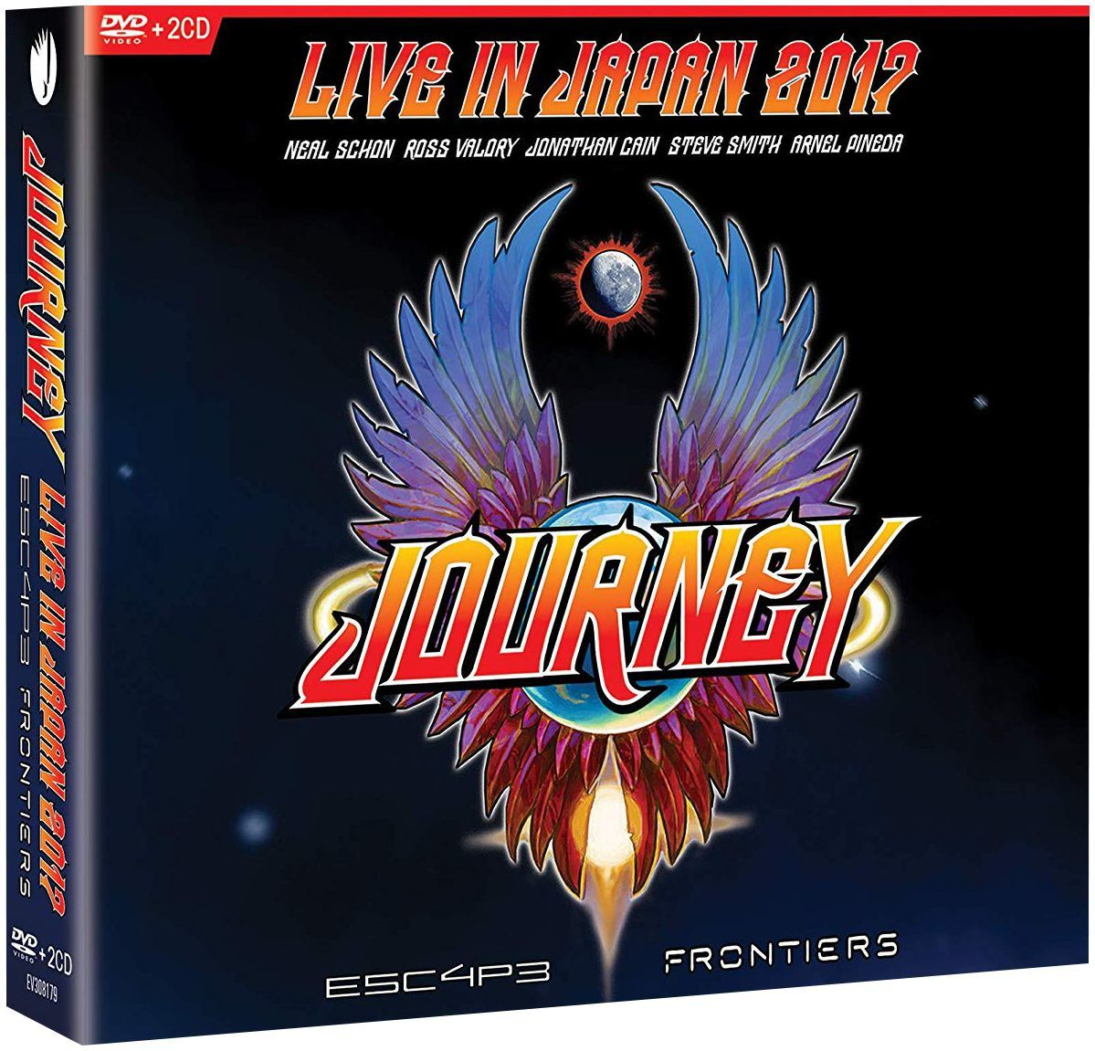 Journey - Escape & Frontiers : Live In Tokyo - 2 CD et Blu-ray le 29 mars 2019