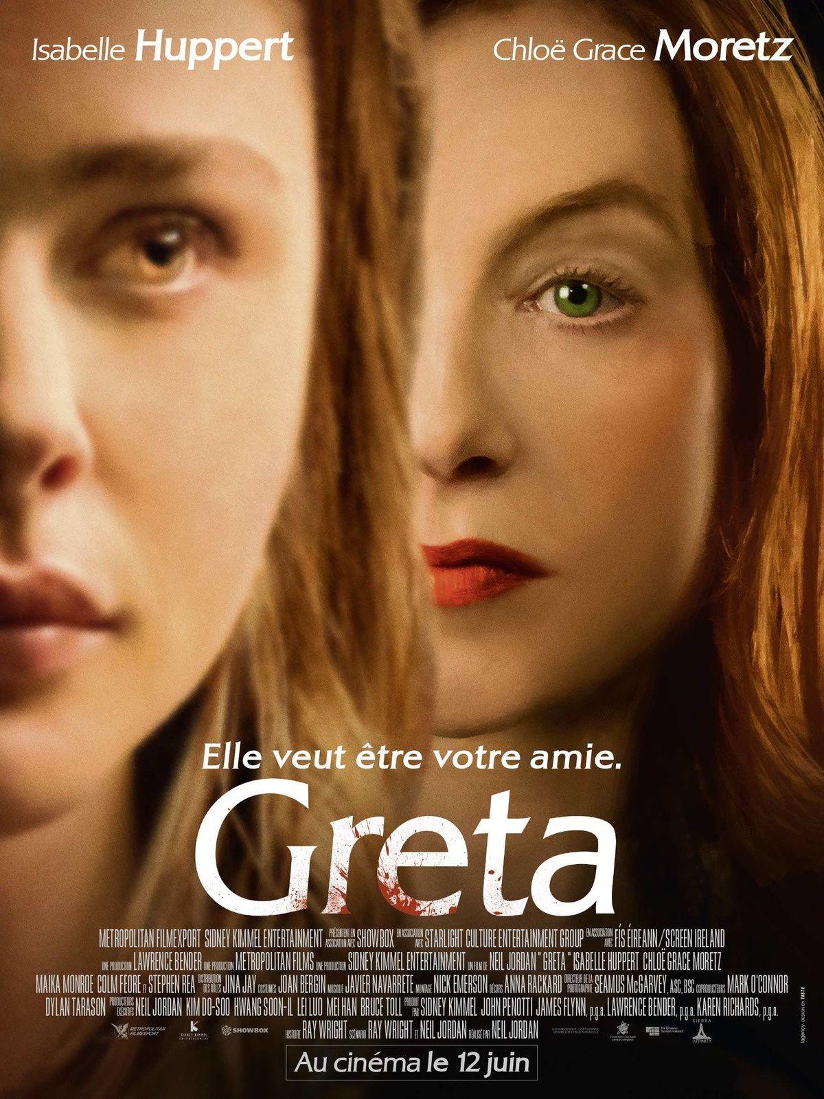 GRETA (BANDE-ANNONCE) avec Isabelle Huppert, Chloë Grace Moretz - Le 12 juin 2019 au cinéma