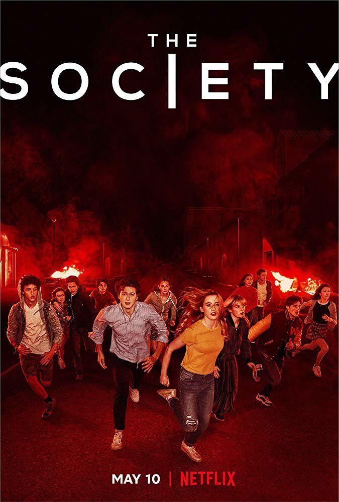 The Society avec Gideon Adlon, Sean Berdy, Natasha Liu Bordizzo - Le 10 mai 2019 sur Netflix
