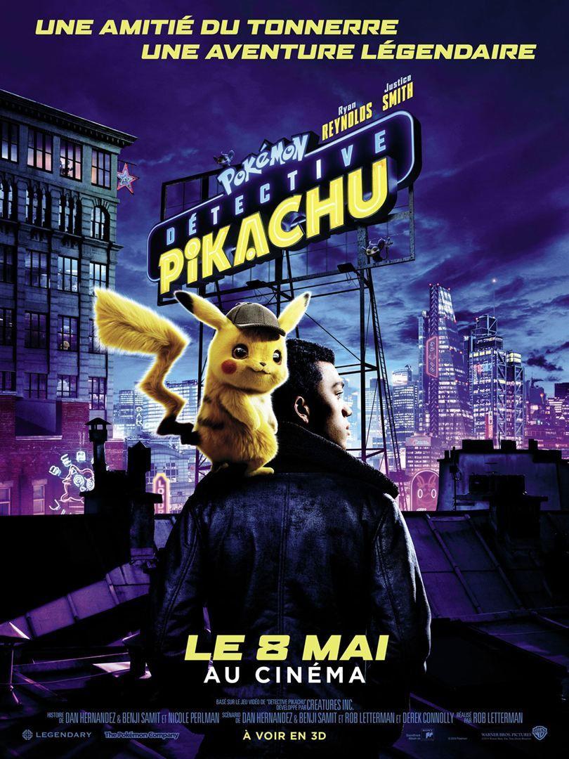 Pokémon Detective Pikachu (BANDE-ANNONCE 1 et 2) avec Ryan Reynolds, Bill Nighy - Le 8 mai 2019 au cinéma