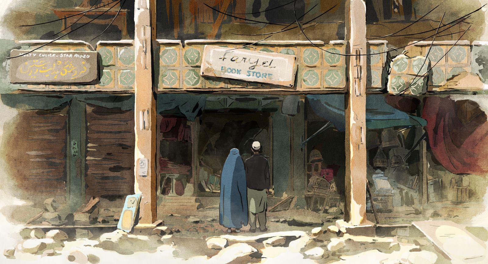 Les hirondelles de Kaboul (BANDE-ANNONCE) de Zabou Breitman et Eléa Gobbé-Mévellec - Le 4 septembre 2019 au cinéma