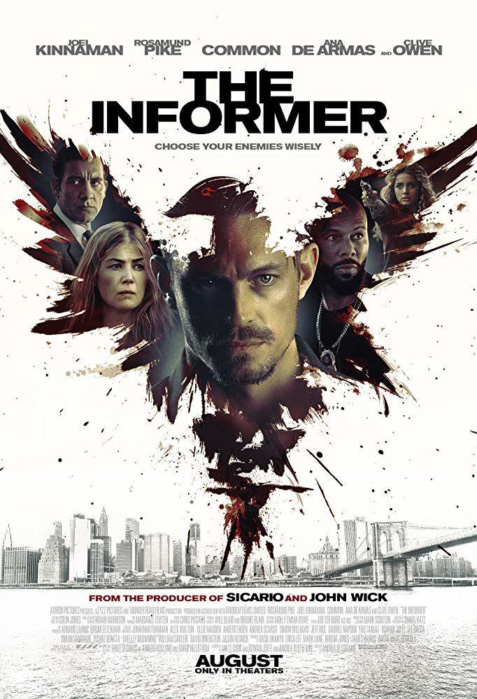 The informer (BANDE-ANNONCE) avec Rosamund Pike, Clive Owen, Common
