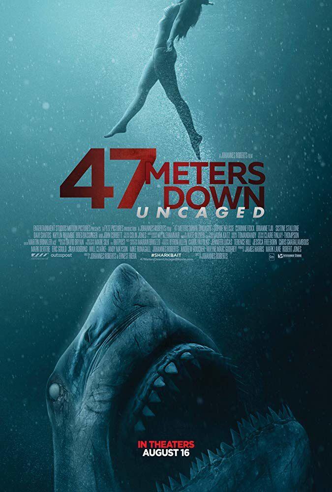 47 Meters Down : Uncaged (BANDE-ANNONCE) avec John Corbett, Nia Long, Sophie Nélisse