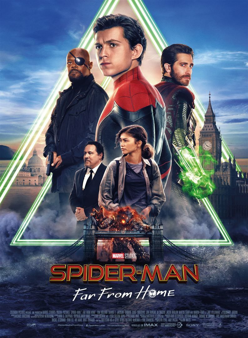 Spider-Man : Far From Home (3 EXTRAITS) avec Tom Holland, Zendaya, Marisa Tomei, Jake Gyllenhaal - Le 3 juillet 2019 au cinéma