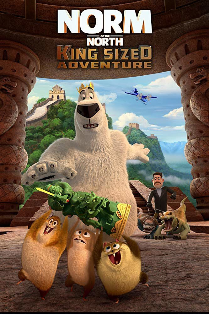 Norm of the North : King Sized Adventure (BANDE-ANNONCE) avec Jennifer Cameron, Brian Dobson, Michael Dobson