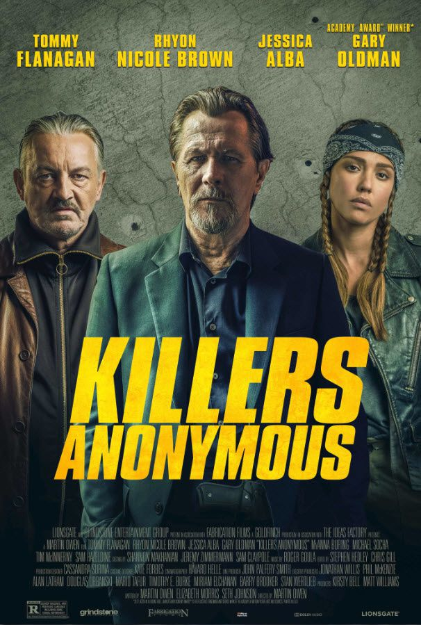 Killers Anonymous (BANDE-ANNONCE) avec Gary Oldman, Jessica Alba, Tommy Flanagan