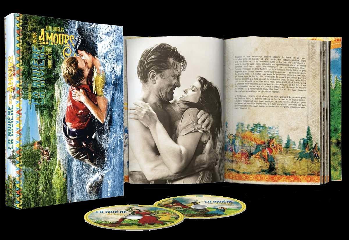 La rivière de nos amours (EXTRAIT) avec Kirk Douglas, Elsa Martinelli, Walter Matthau - En Blu-ray+DVD+Livret le 24 juillet 2019