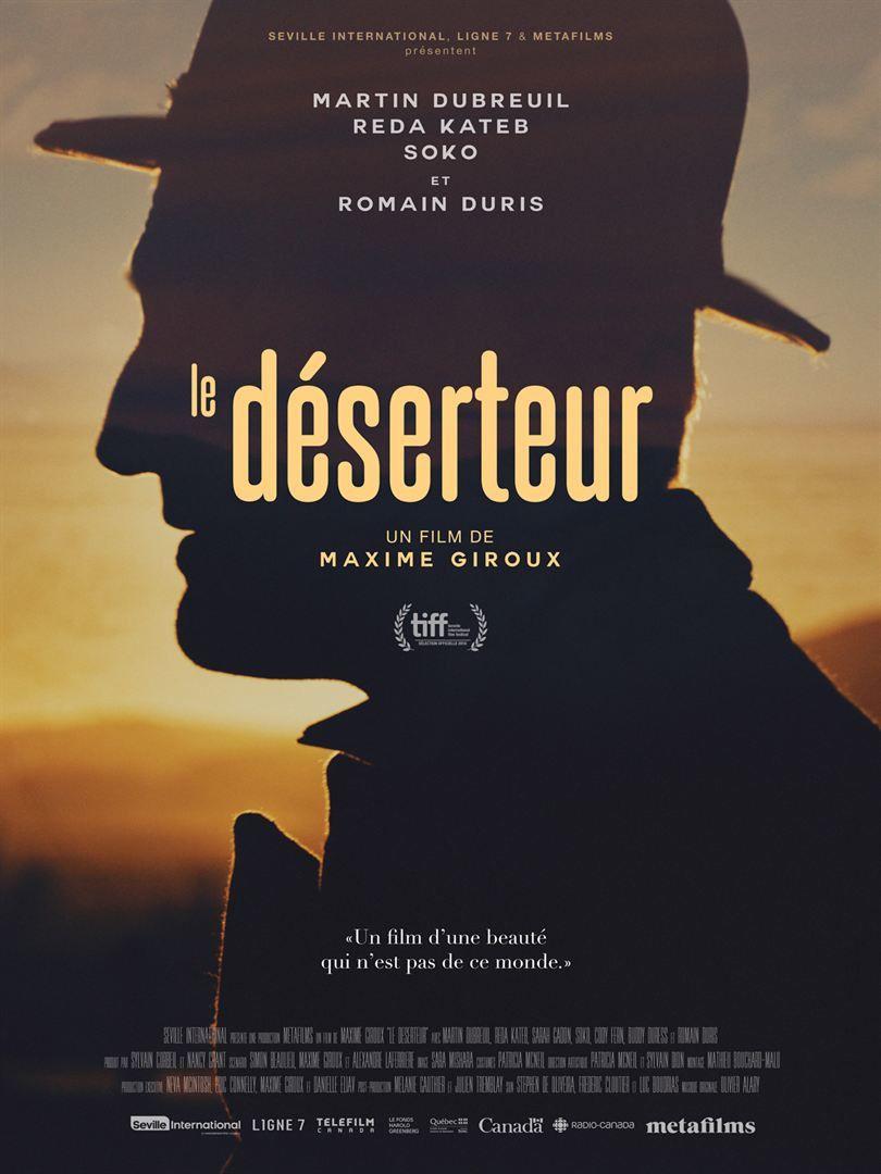 LE DÉSERTEUR (BANDE-ANNONCE) avec Romain Duris, Sarah Gadon, Reda Kateb - Le 21 août 2019 au cinéma