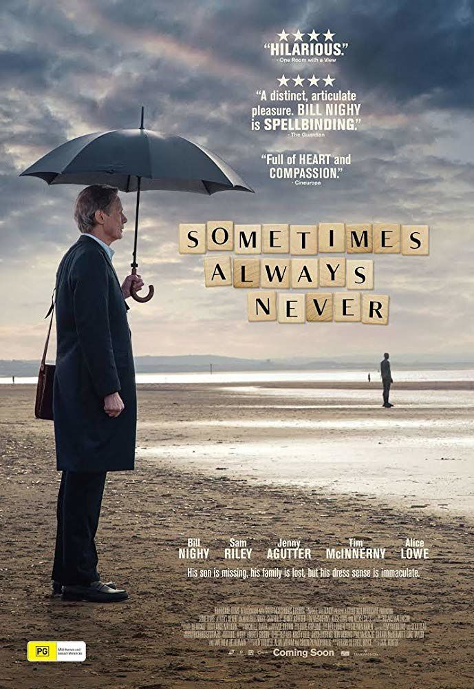 Sometimes always never (BANDE-ANNONCE) avec Bill Nighy, Sam Riley, Alice Lowe