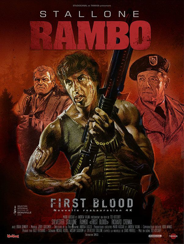 Rambo (First Blood - 1982) (BANDE ANNONCE VOST) avec Sylvester Stallone, Richard Crenna, Brian Dennehy - le 18 septembre 2019 au cinéma