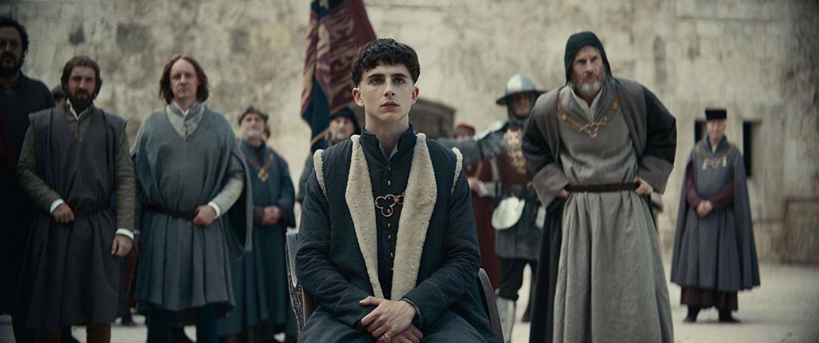 Le roi avec Timothée Chalamet, Joel Edgerton, Robert Pattinson, Lily-Rose Depp - Automne 2019 sur Netflix