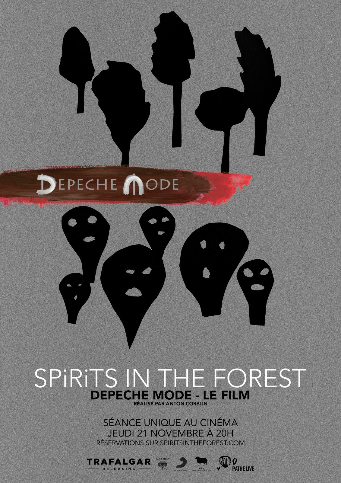 Depeche Mode : Spirits in the Forest (TEASER) au cinéma le 21 novembre 2019 - 20 h.