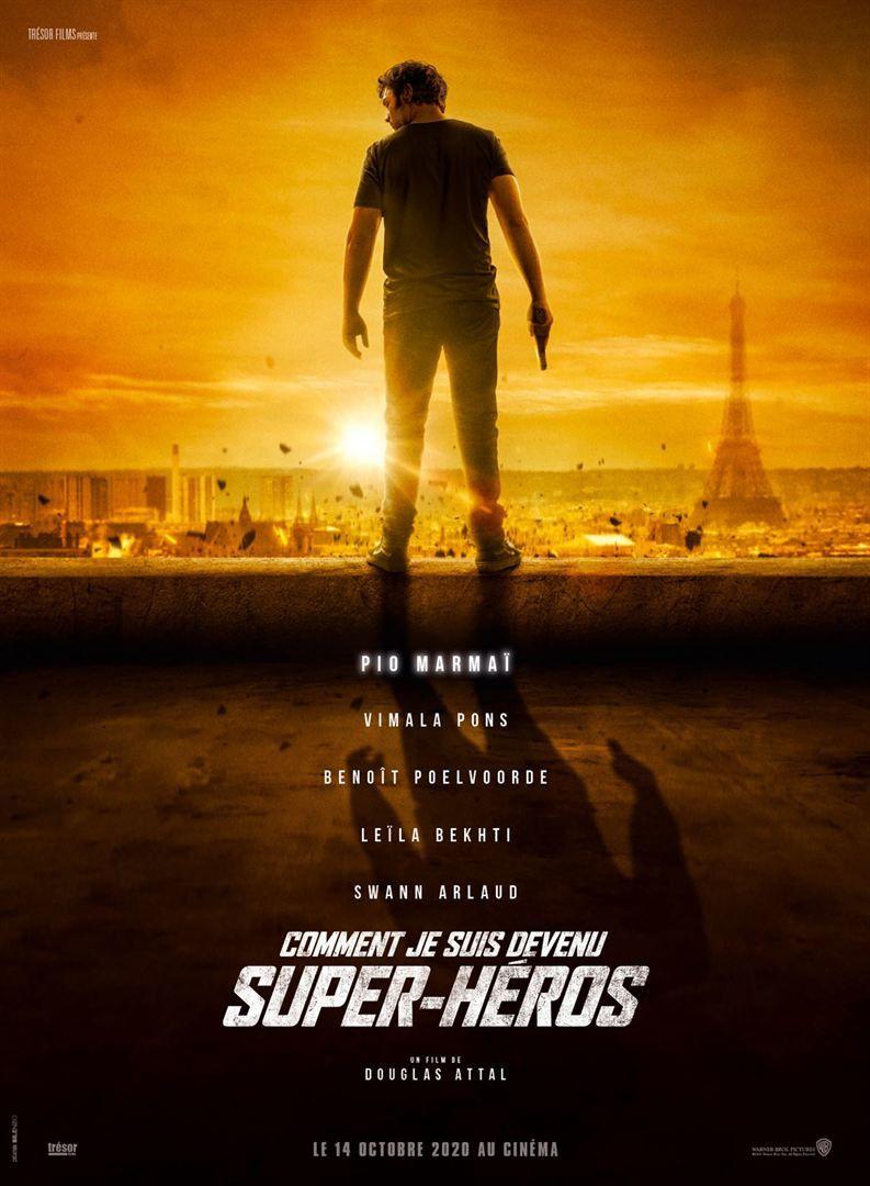Comment je suis devenu super-héros (Le teaser) avec Pio Marmai, Vimala Pons, Benoît Poelvoorde - Le 16 décembre 2020 au cinéma