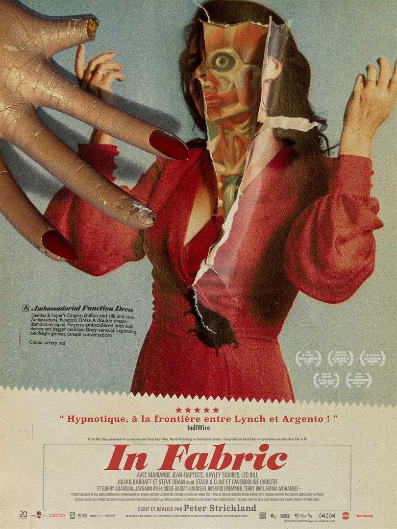 In Fabric (BANDE-ANNONCE) avec Marianne Jean-Baptiste, Gwendoline Christie - Le 20 novembre 2019 au cinéma