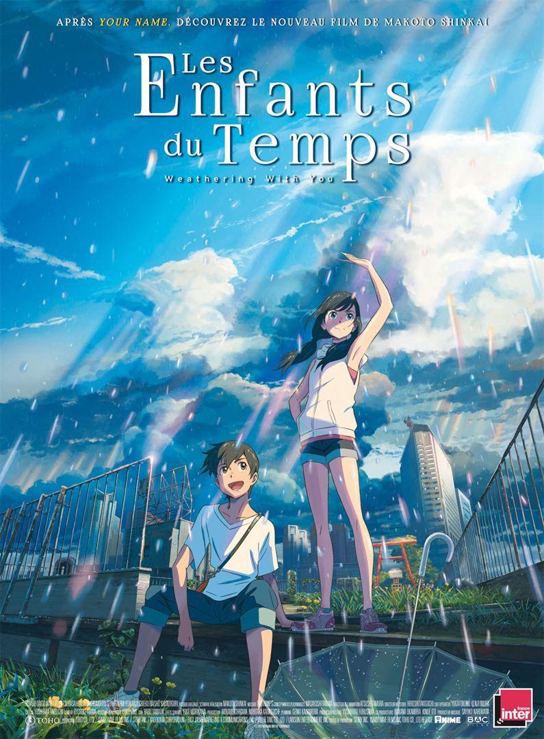 Les enfants du temps (BANDE-ANNONCE) de Makoto Shinkai - Le 8 janvier 2020 au cinéma