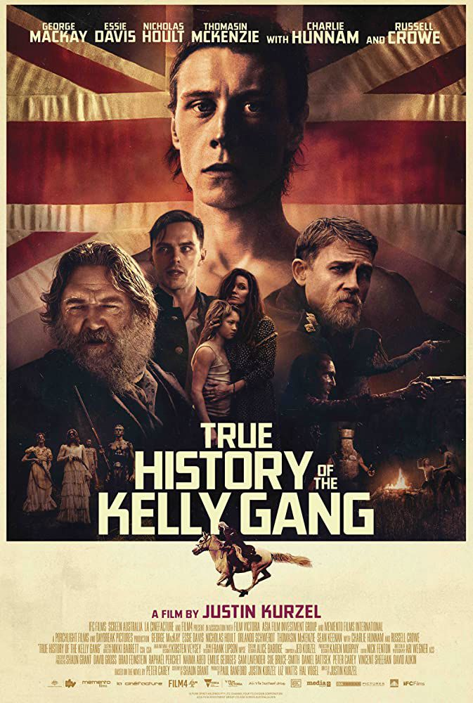 True history of the Kelly Gang (BANDE-ANNONCE) avec George MacKay, Essie Davis, Nicholas Hoult