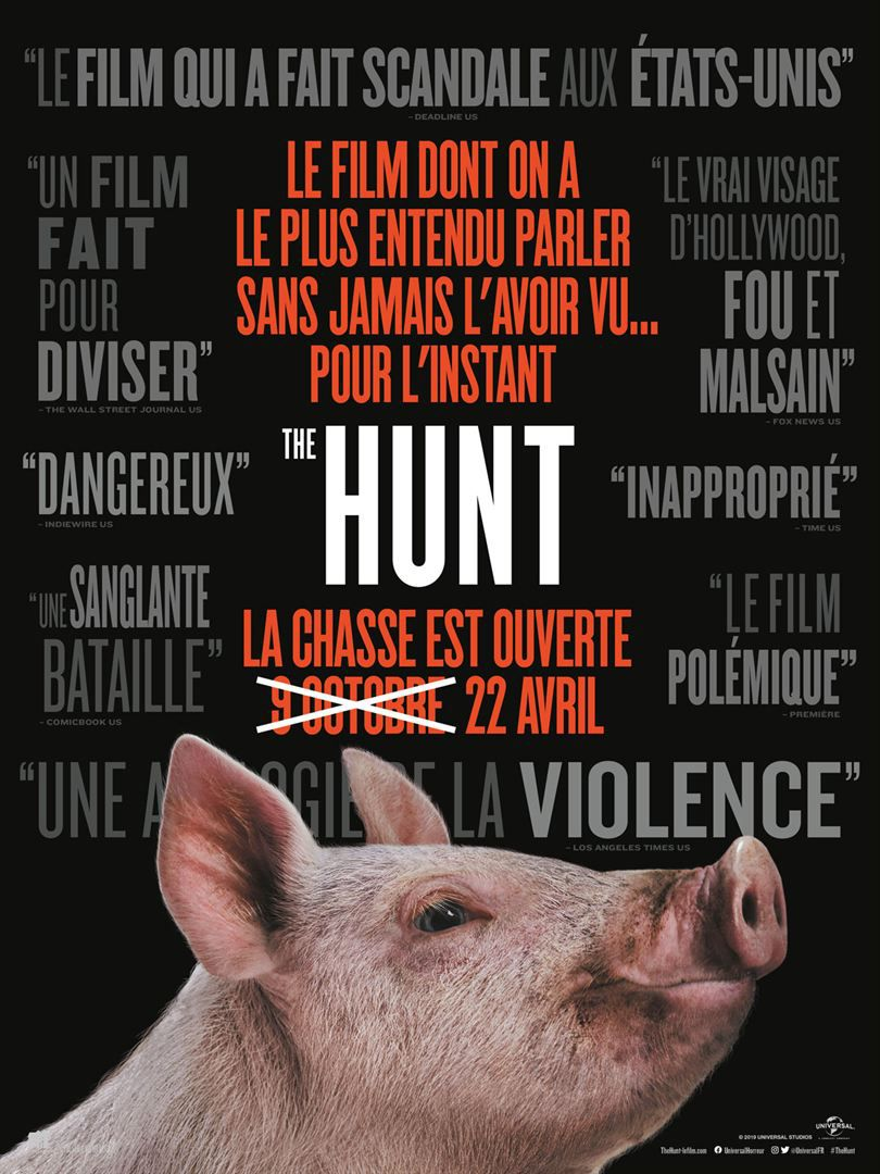 The Hunt (BANDE-ANNONCE) avec Betty Gilpin, Emma Roberts, Hilary Swank