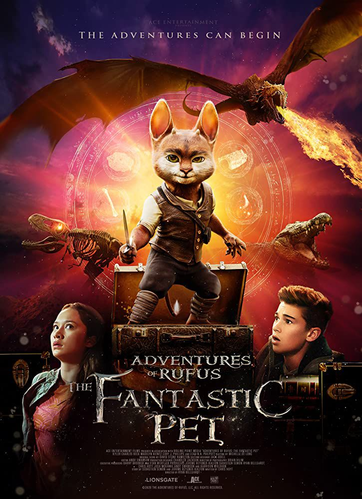 Adventures of Rufus : the fantastic pet (BANDE-ANNONCE) avec Kyler Charles Beck, Erin Herring, Leah N.H. Philpott