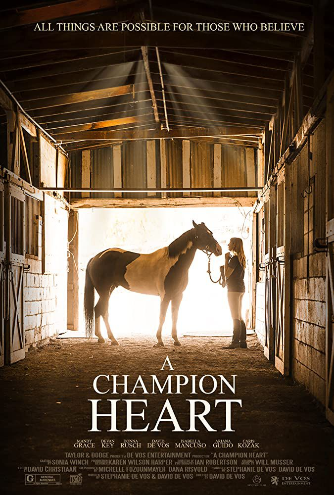 A champion heart (A Horse from heaven) (BANDE-ANNONCE) avec Ryan O'Quinn, Mandy Grace, Ariana Guido
