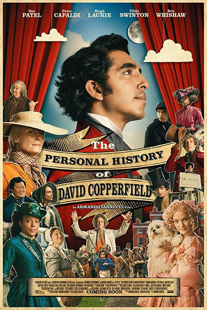 The personal history of David Copperfield (BANDE-ANNONCE) avec Dev Patel, Hugh Laurie, Tilda Swinton