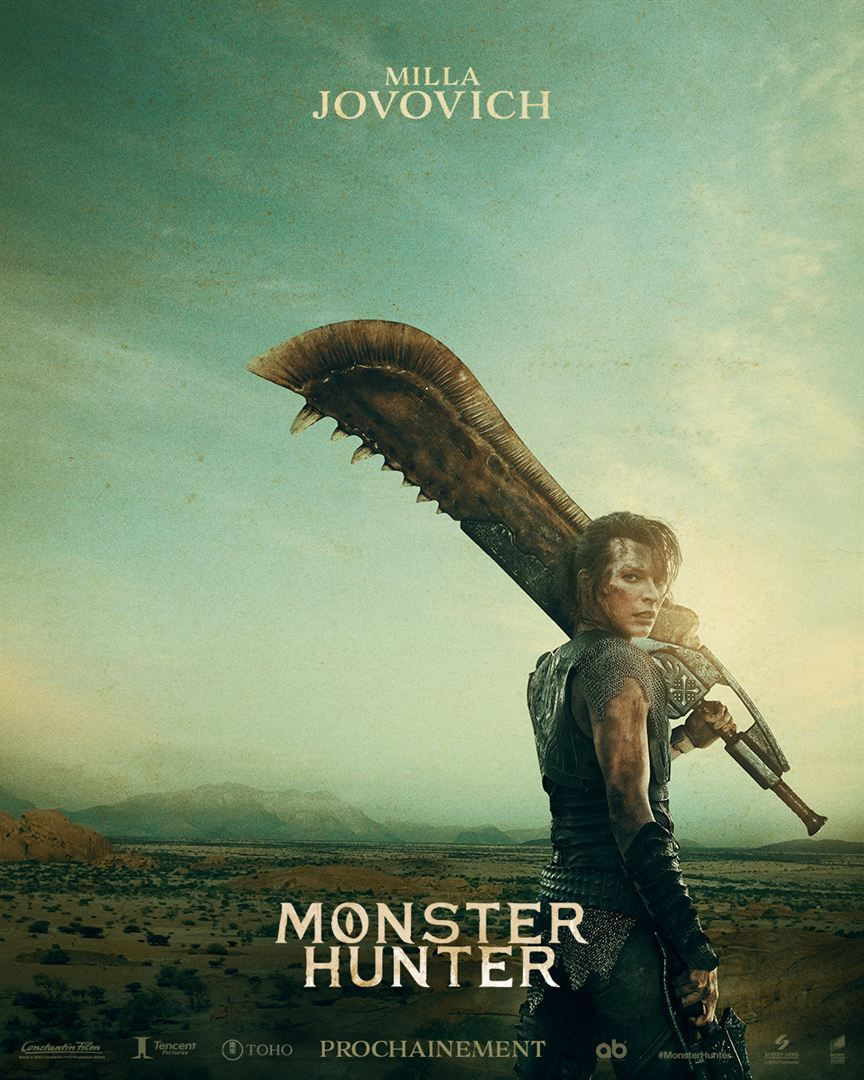 Monster Hunter de Paul W.S. Anderson avec Milla Jovovich, Ron Perlman, Tony Jaa - Le 28 avril 2021 au cinéma