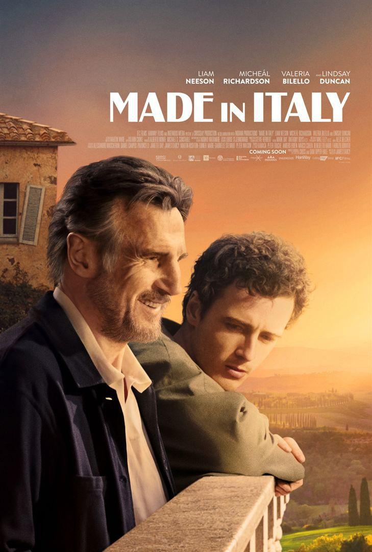 Made in Italy (BANDE-ANNONCE) avec Liam Neeson, Valeria Bilello, Micheál Richardson
