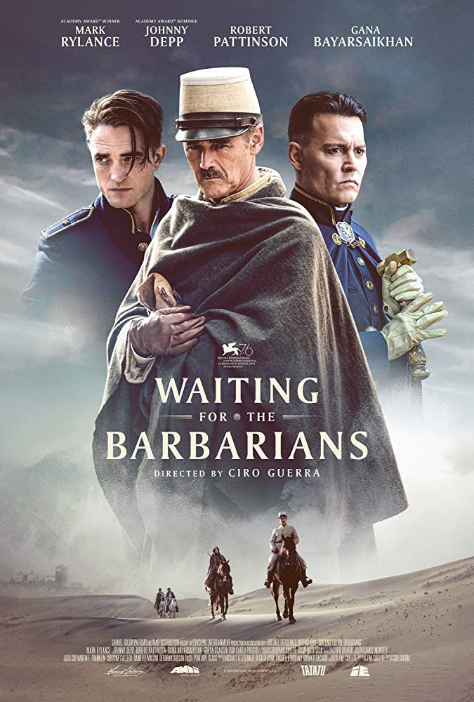 Waiting for the barbarians (BANDE-ANNONCE) avec Robert Pattinson, Mark Rylance, Johnny Depp - En DVD le 2 septembre 2020