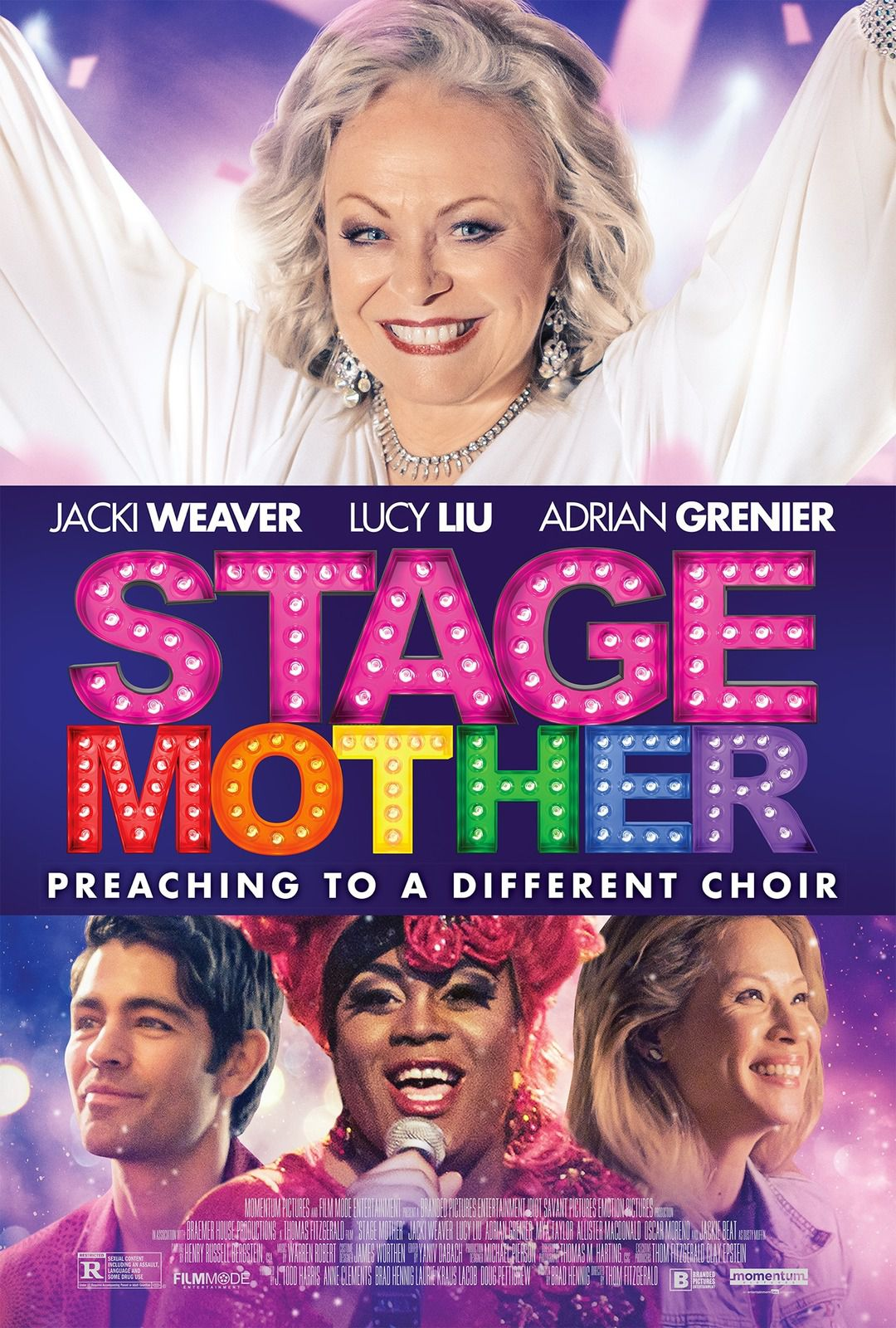 STAGE MOTHER (BANDE-ANNONCE) avec Lucy Liu, Adrian Grenier, Jacki Weaver