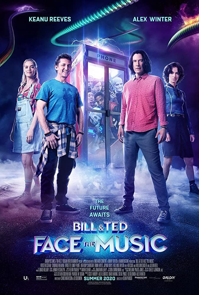 Bill & Ted Face the Music (BANDE-ANNONCE) avec Keanu Reeves, Alex Winter, Samara Weaving