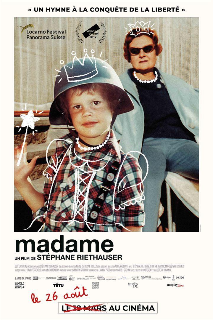 MADAME (BANDE-ANNONCE) de Stéphane Riethauser - Le 26 août 2020 au cinéma