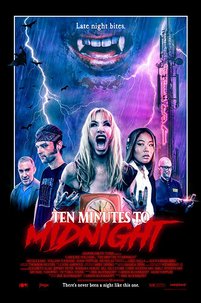 Ten minutes to midnight (BANDE-ANNONCE 2020) avec Caroline Williams, Nicole Kang, Nicholas Tucci