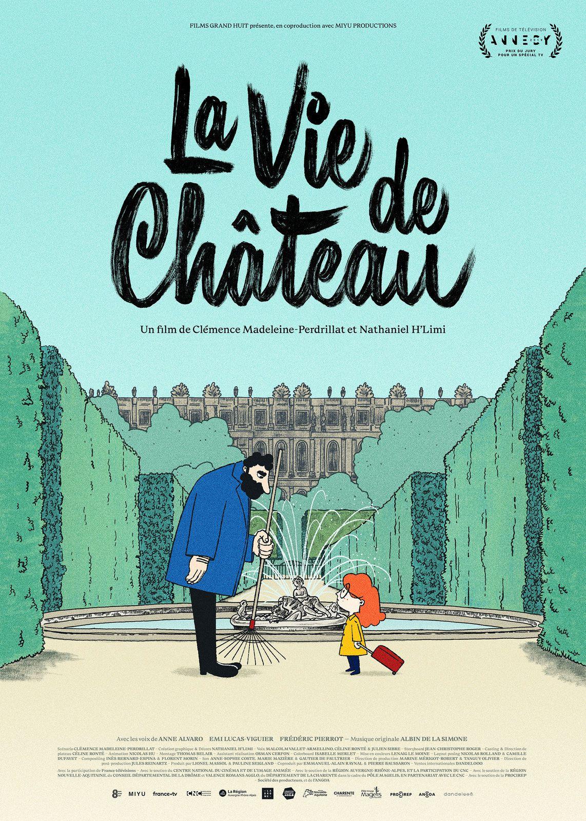 La vie de château (LE TEASER) de Clémence Madeleine-Perdrillat et Nathaniel H'limi - Le 24 février 2021 au cinéma