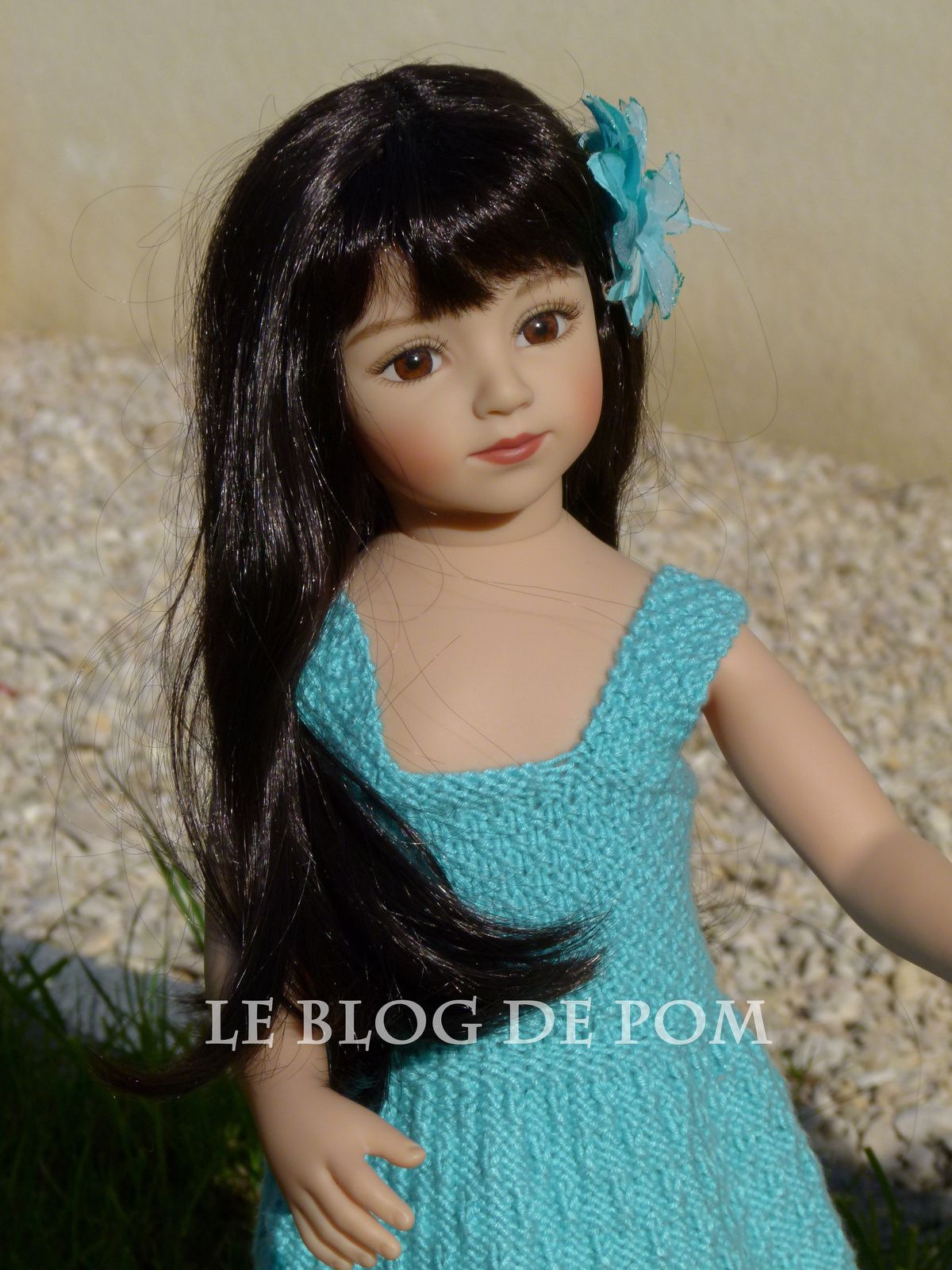 Halloween, robe pour poupée Gotz - a dress for dolls Gotz