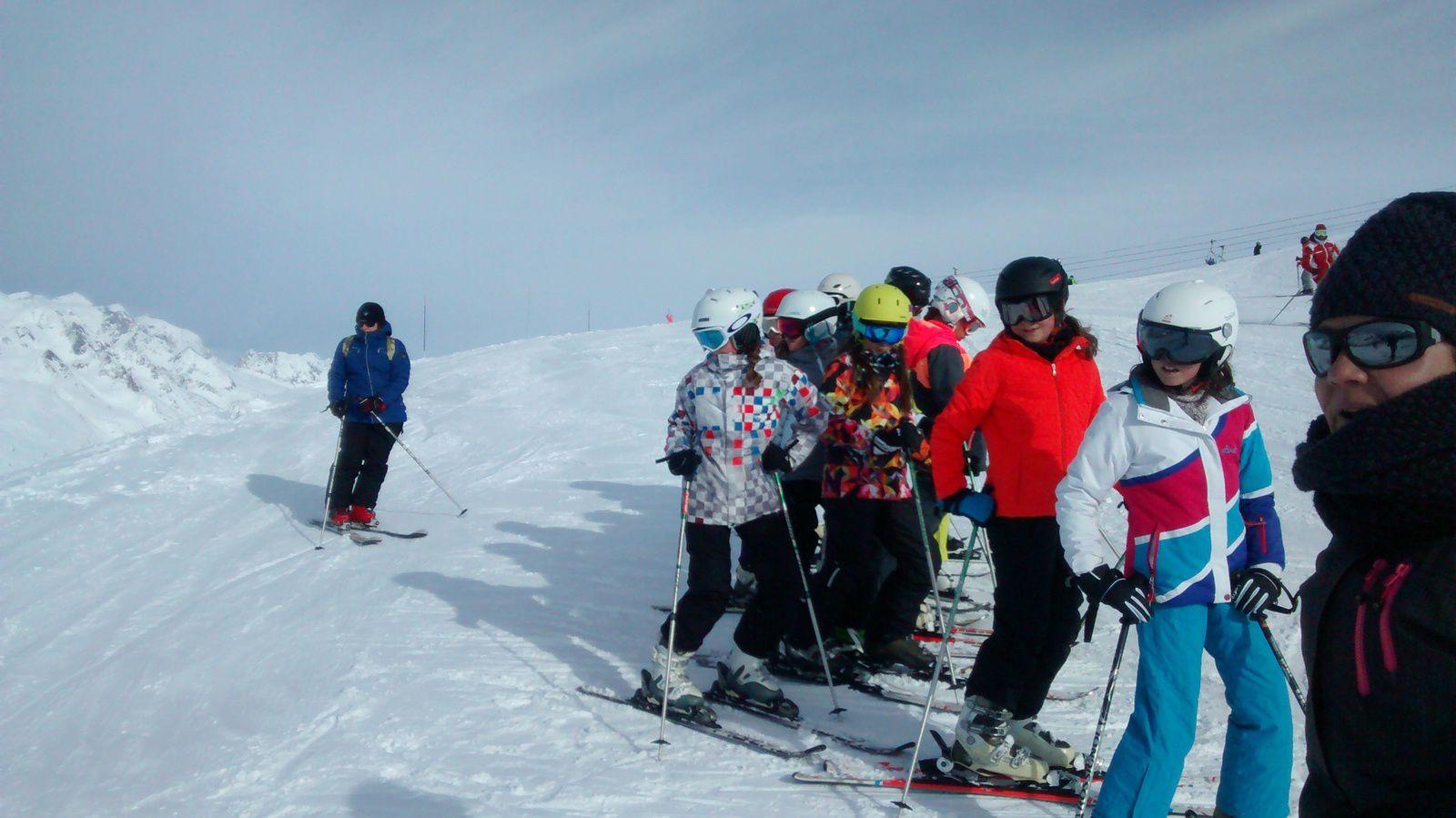 Mercredi c'est Ski puis Ski puis Ski......
