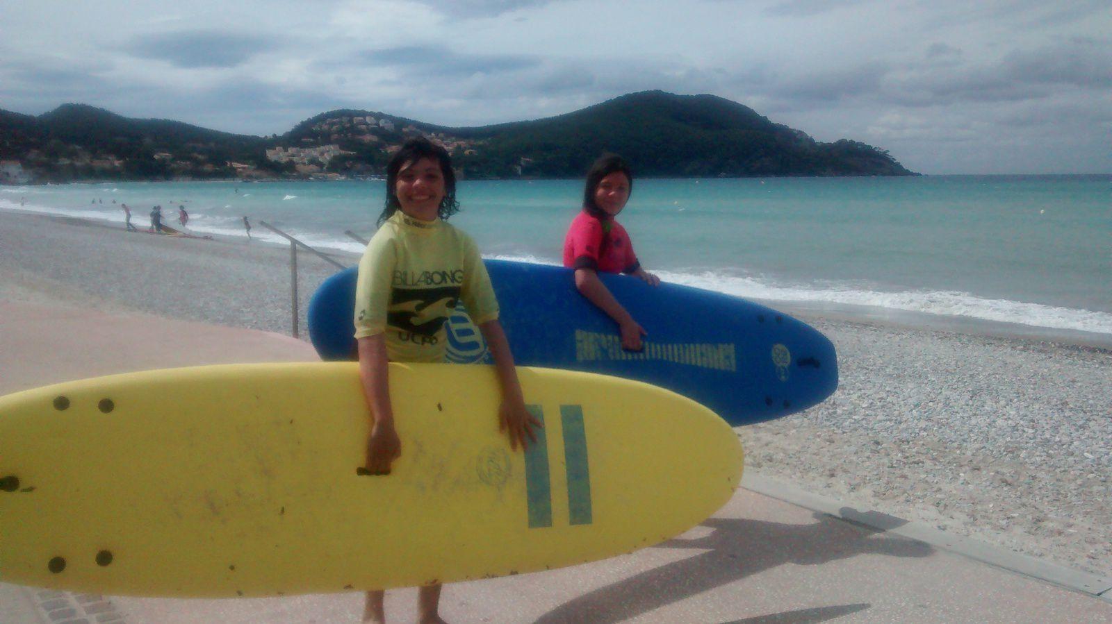 Au programme Surf et Catamaran....