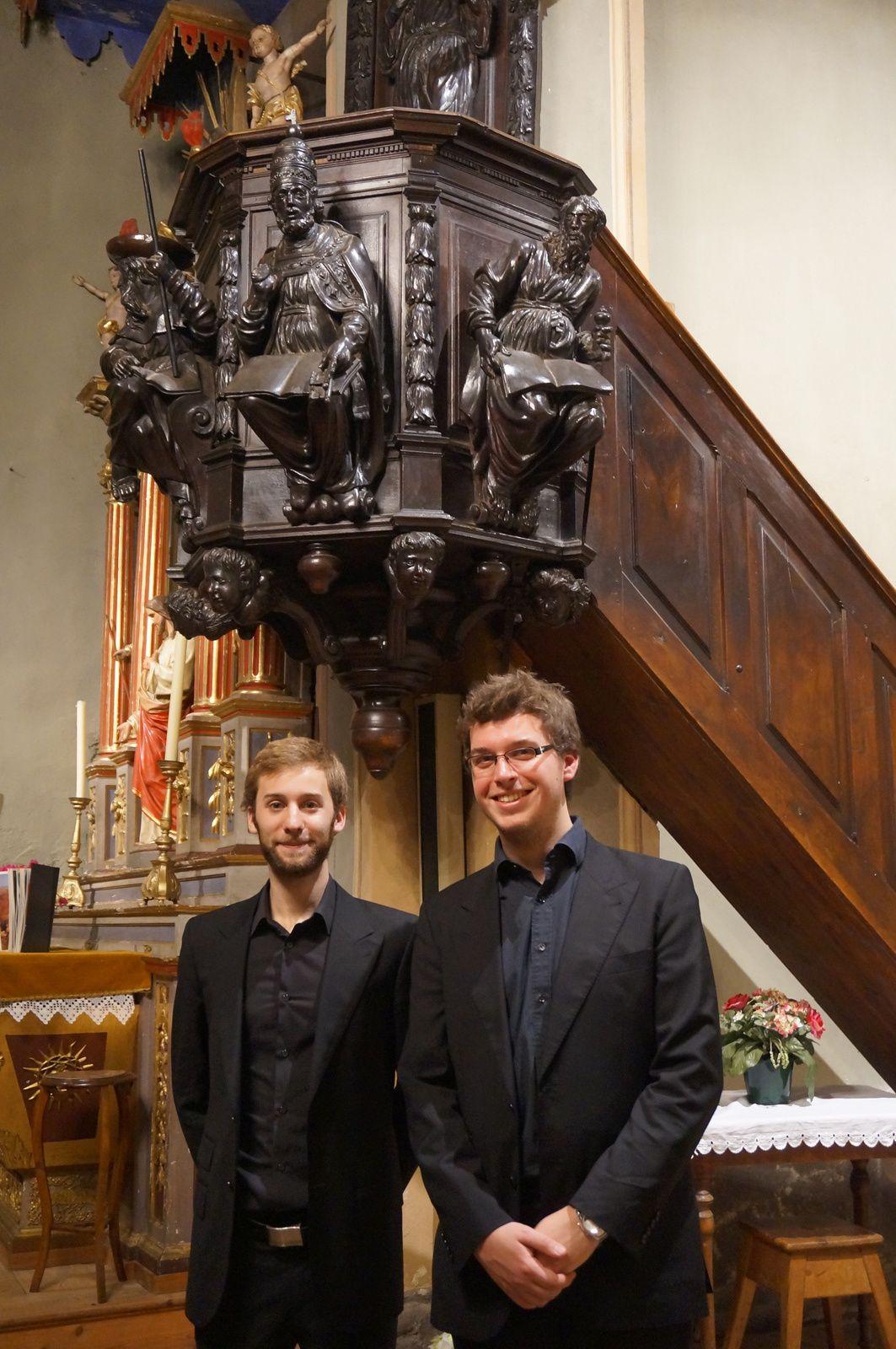 2 anciens Petits Chanteurs de Lyon/ Ensemble Jeun'Voix